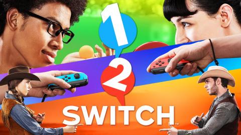 Nintendo annonce 1 2 Switch, le jeu qui se joue sans écran