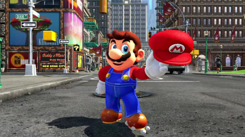 Super Mario Odyssey : un nouveau Mario pour la fin de l'année sur Switch