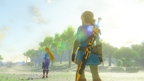 Zelda Breath of The Wild : Un joueur récupère l'un des coffres jugés inatteignables