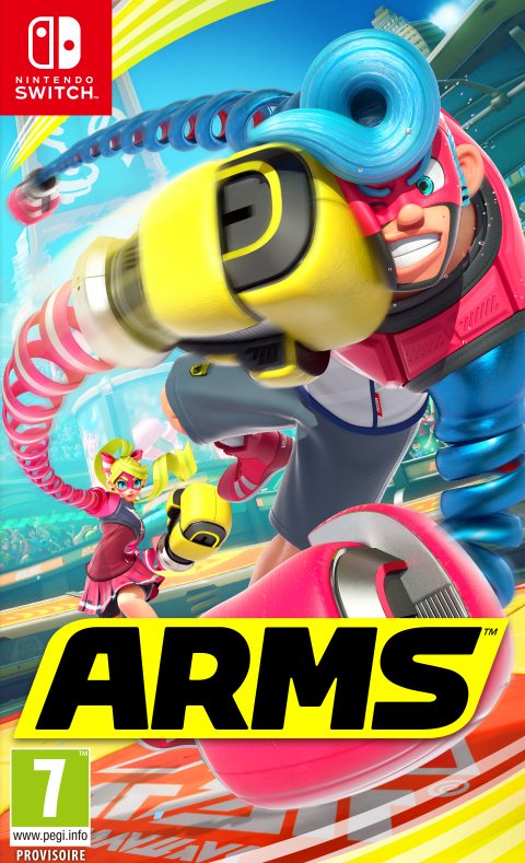 ARMS sur Switch