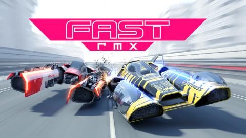 Fast RMX : à la croisée des mondes de F-Zero et de WipEout sur Switch