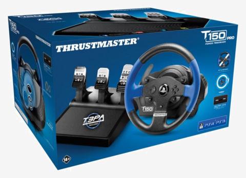 Thrustmaster : De nouveaux bundle PRO pour les volants T150 et TMX
