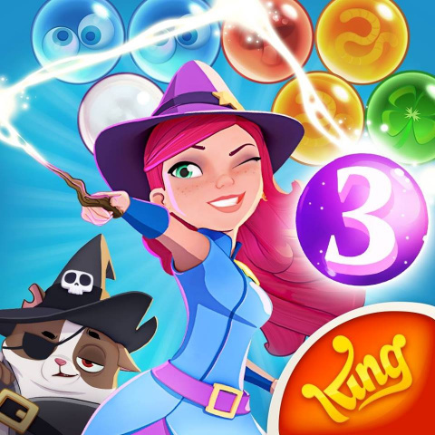Bubble Witch 3 Saga sur Android