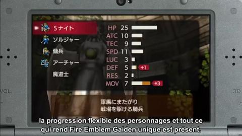 Fire Emblem Echoes : Shadows of Valentia annoncé sur Nintendo 3DS