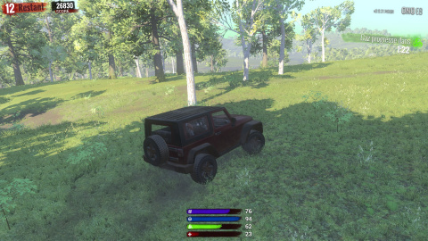 Les différents véhicules