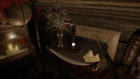 Chapitre 4 - Clé Corbeau, Lanterne et Marguerite (Vieille maison)