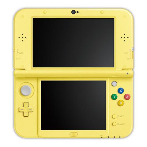 Nintendo annonce une New Nintendo 3DS XL estampillée Pikachu