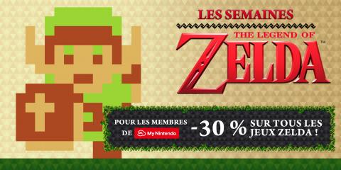 Jaquette de Nintendo eShop : Les jeux The Legend of Zelda en promo pour les membres de My Nintendo