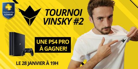 PS+ League : Défie Vinsky sur FIFA pour gagner une PS4 Pro !