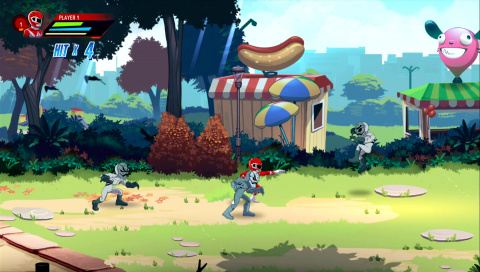 Power Rangers : Mega Battle - Des super-héros en tenue délavée sur PS4
