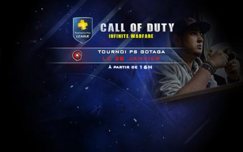 PlayStation Plus League : Défie Gotaga sur Call of Duty Infinite Warfare demain !