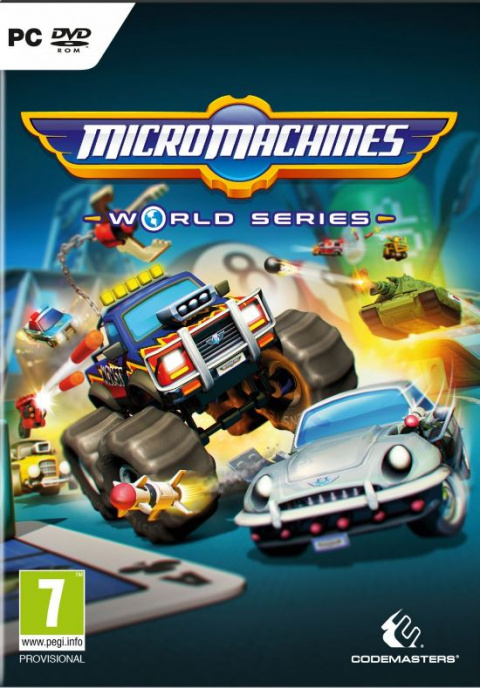 Micro Machines World Series sur PC