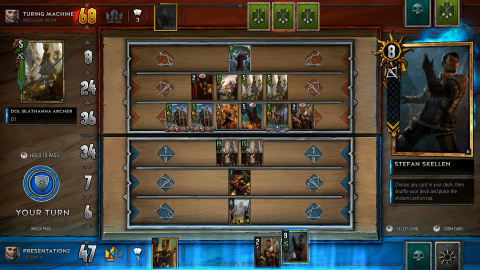 Gwent - Le Nilfgaard joue en traître dans le jeu de cartes issu de The Witcher 3