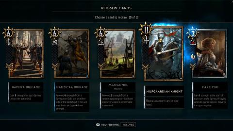 Gwent : The Witcher Card Game se trouve enfin une date de sortie sur iOS