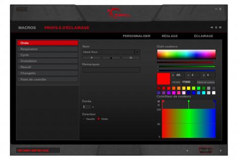 Test G.Skill Ripjaws KM780 : Un rapport qualité prix intéressant