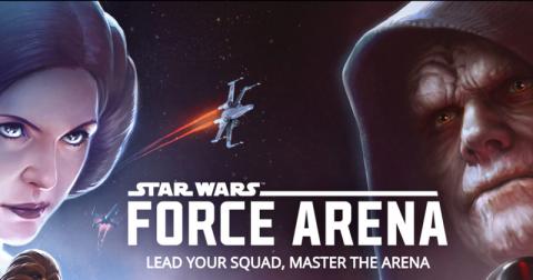 Jaquette de Star Wars : Force Arena, le free to play action stratégie idéal ?