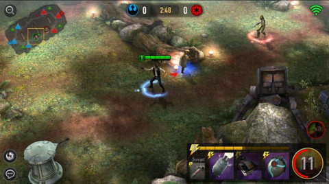 Star Wars : Force Arena, le free to play action stratégie idéal ?
