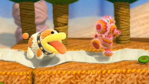Jaquette de Poochy & Yoshi's Woolly World : Mieux que l'original ! sur 3DS