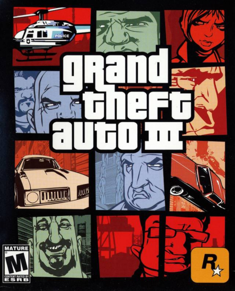 Grand Theft Auto III sur PS4