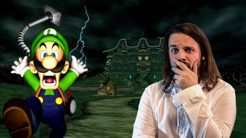 Spoilers: Maxime chasse le fantôme et retrace l'histoire de Luigi's Mansion