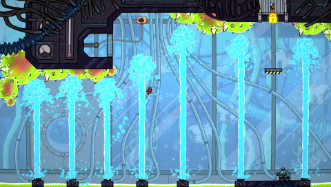 Splasher : Quand Super Meat Boy rencontre Splatoon sur PC