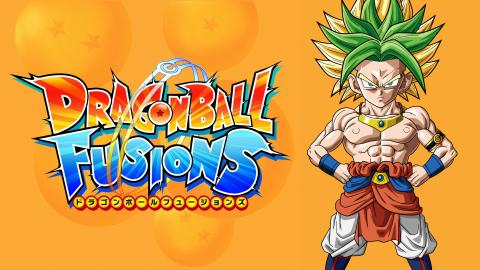 Jaquette de Dragon Ball Fusions, le meilleur jeu Dragon Ball de ces dernières années sur 3DS