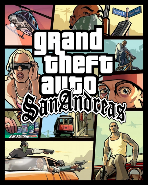 Grand Theft Auto : San Andreas sur Mac
