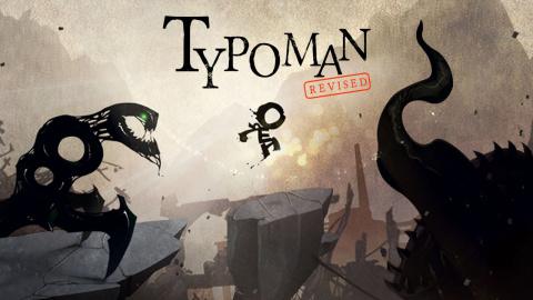 Jaquette de Typoman annoncé sur PS4
