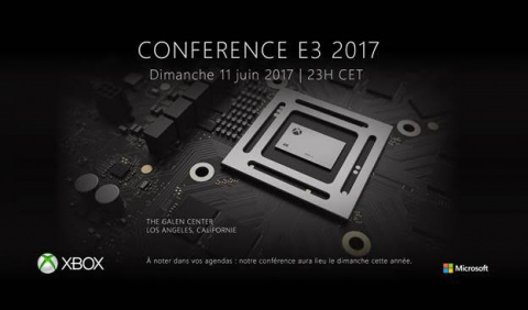 E3 2017 : La conférence Xbox confirmée sur un nouveau créneau