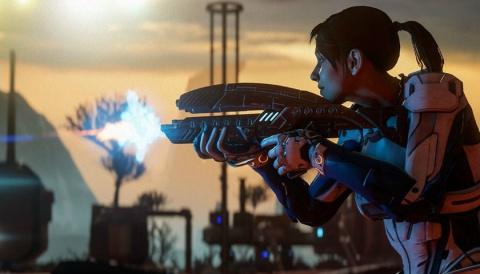 Mass Effect Andromeda - 5 minutes de gameplay pour tout savoir des combats !
