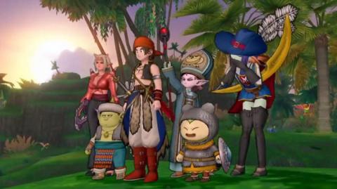 Jaquette de Dragon Quest X, c'est pour cet été au Japon