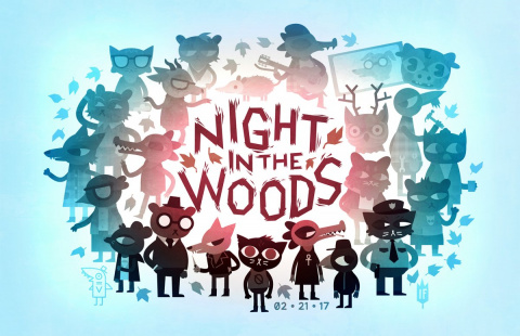 Night in the Woods sur PS4