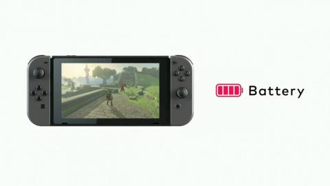 Nintendo Switch : 3 heures d'autonomie sur Zelda