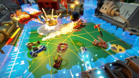Micro Machines World Series : les premières captures d'écran