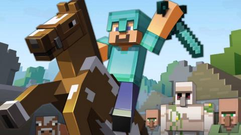Jaquette de Minecraft : 55 millions de joueurs actifs chaque mois