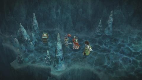 La traversée des Grottes Glacées