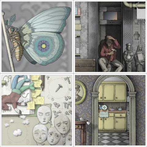 Gorogoa : le puzzle game artistique par excellence ? : GDC 2017