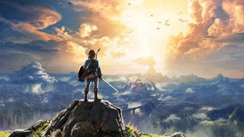 Jaquette de The Legend of Zelda : Breath of the Wild - L'Aventure, avec un grand A sur Switch