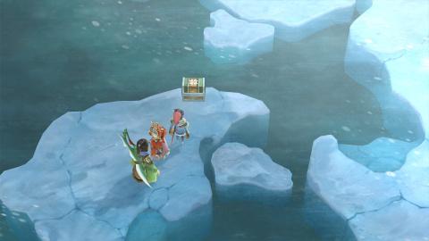 La traversée de la Mer de Rora