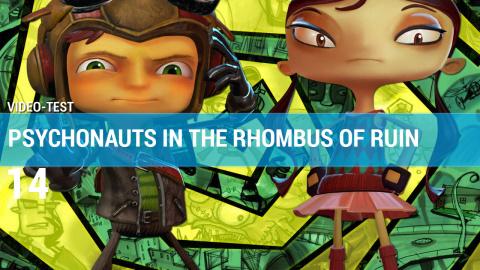Jaquette de  Psychonauts in the Rhombus of Ruin : Une réussite de plus signée Tim Schafer ?