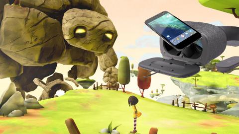 GDC : DayDream View : La réalité virtuelle pour mobiles à un prix abordable