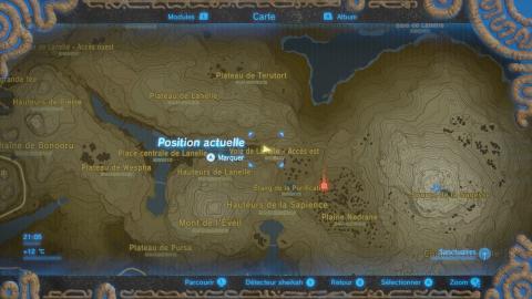 Où trouver le souvenir de Link n°11 ?