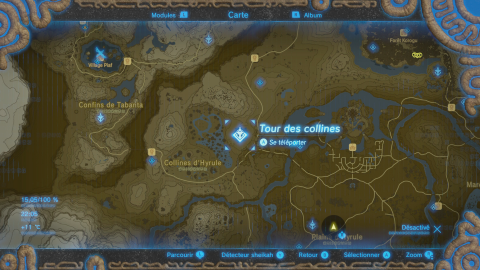 Trouver et monter l'Alpha - Soluce The Legend of Zelda