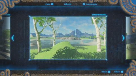 Où trouver le souvenir de Link n°2 ?