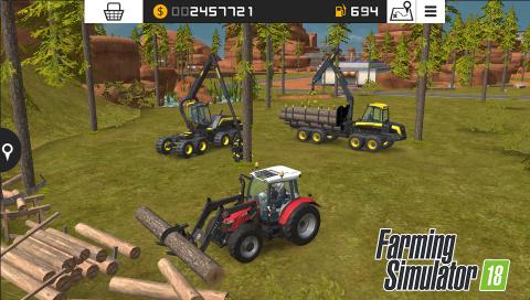 Farming Simulator 18 s'offre quelques images