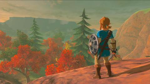 The Legend of Zelda : Breath of the Wild - La Montagne de Lanelle