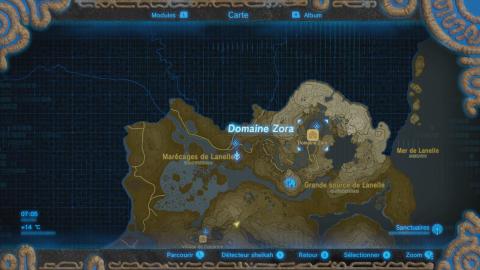 Où se trouve le Domaine Zora ?