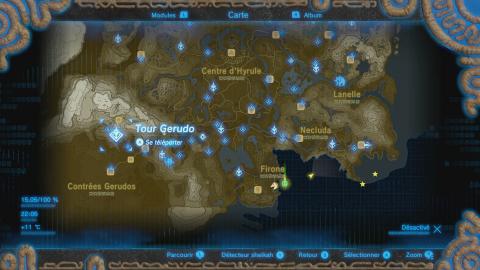 Où se trouve la Cité Gerudo ?