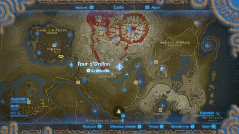 Où se trouve le Village Goron ?