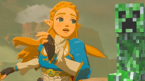Jaquette de Zelda Breath of the Wild : Minecraft et Terraria comme sources d'inspiration